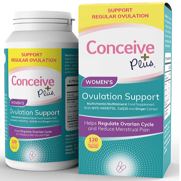 Conceive Plus 120 Ovulation Supplement Tabletten für das Syndrom der polyzystischen Eierstöcke